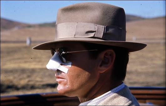謎を追いかける探偵のギテス(ジャック・ニコルソン)