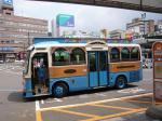 乗ってみたかったコミュニテイ・バス、なんと運賃100円。乗り放題で300円!!