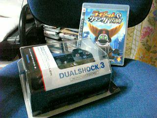 デュアルショック3とラチェット&クランク