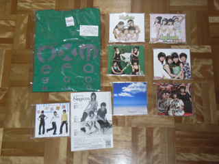 全部買ってもPerfume武道館で買った以下のお値段でした。