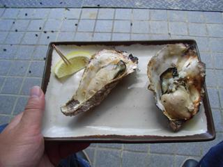 牡蠣食ったり