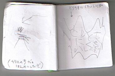2009.4.3.けんメモより 鳥の巣発見