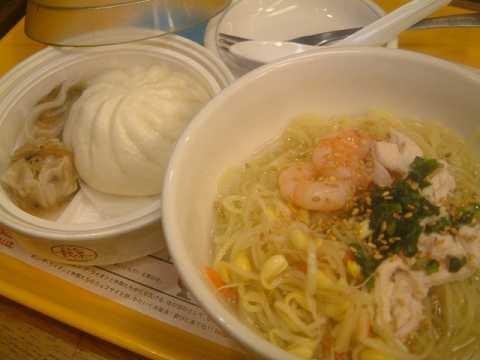 涼風塩地鶏麺(ミスタードーナッツ)