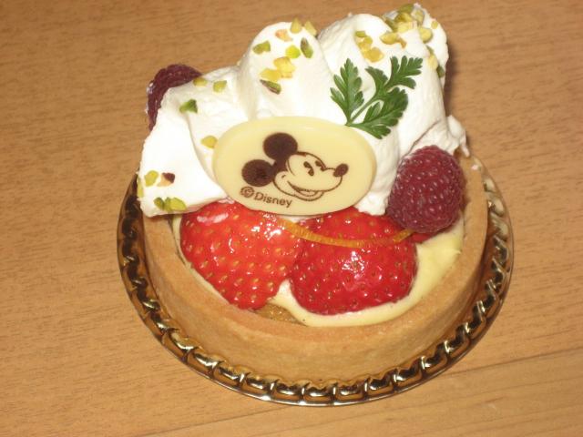 シェフミッキー ケーキ3
