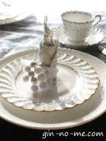 キャンドル型のナプキン