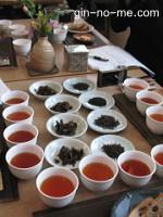 現代の国産紅茶4種類試飲