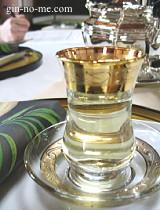 ダージリン緑茶の水出し
