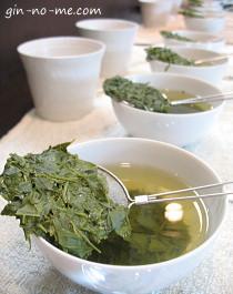 日本茶のテイスティングを体験!