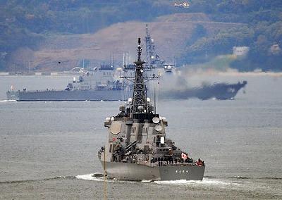 イージス日本海へ