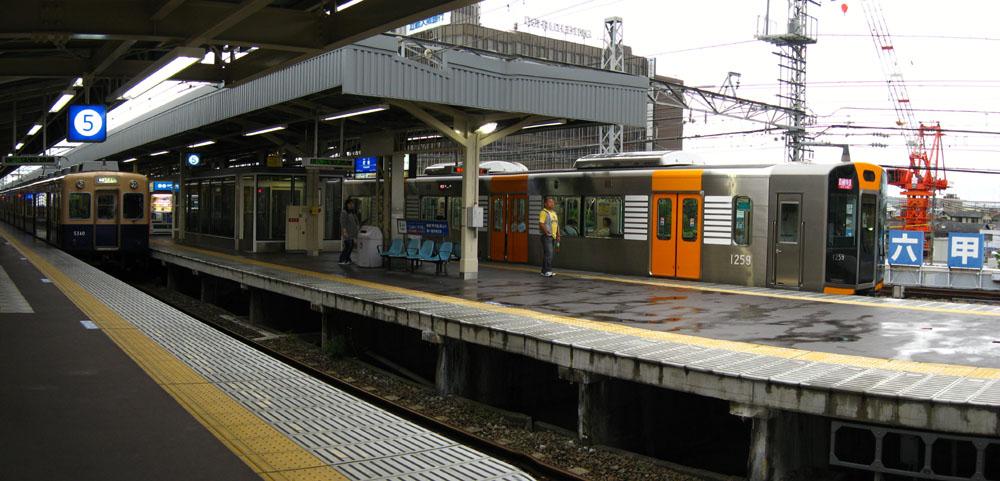 阪神尼崎駅STB