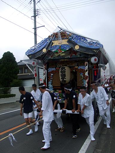 天王祭 山車