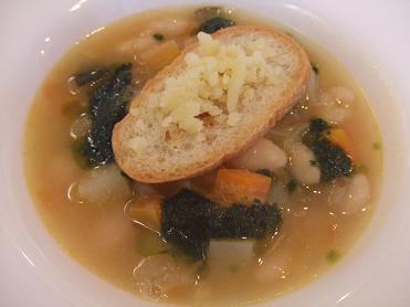 ペルージュ 豆のスープ
