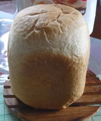 ホームベーカリー食パン1
