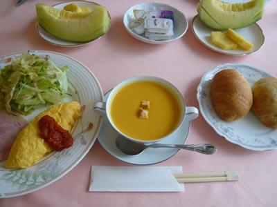 森のレンガ館朝食