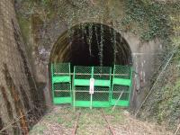 閉鎖されたトンネル