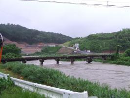 昨日の曽木川