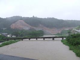 今日の曽木川