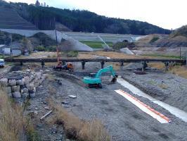 取り壊される高千穂鉄道