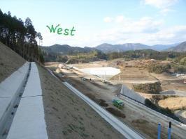 西側(熊本方面)