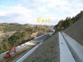 東側(延岡方面)