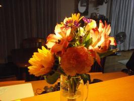花瓶がこれじゃねっ。