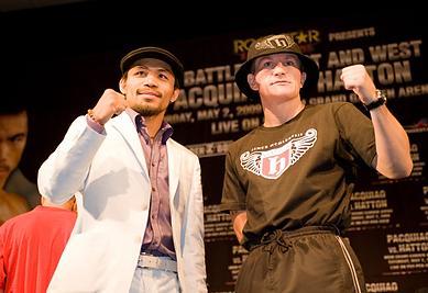 IBO マニーパッキャオ vs リッキーハットン
