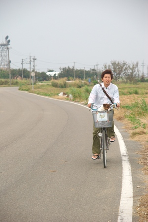 自転車で走る