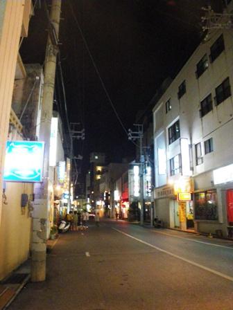 石垣島の夜