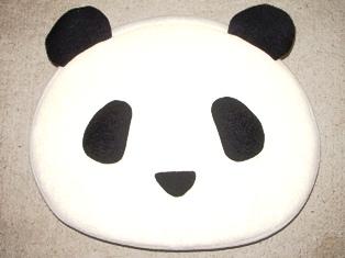 パンダのクッション
