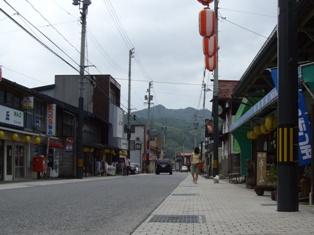昭和レトロな街並み