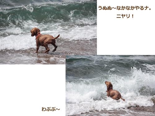 なかなかやるな波!!