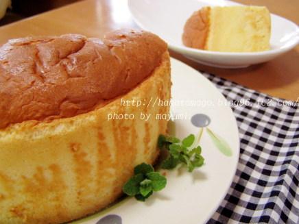 クリームチーズシフォン