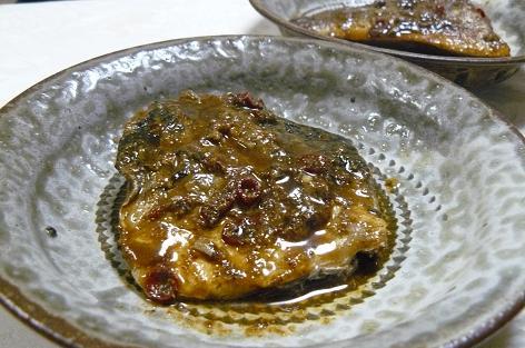 鯖の糠炊き