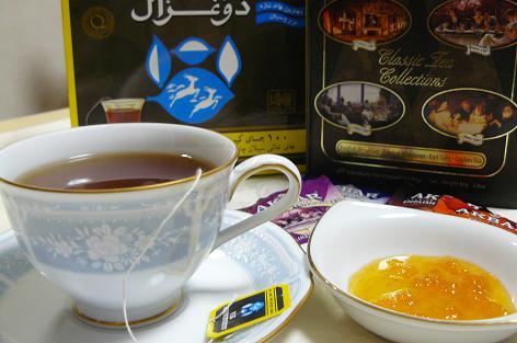 美味しい紅茶と♪
