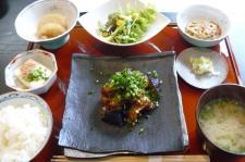 チキンと茄子の味噌炒め