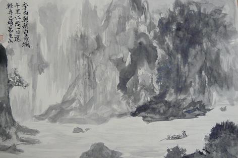 トマ爺の墨絵