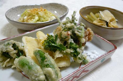 野菜の天ぷら♪