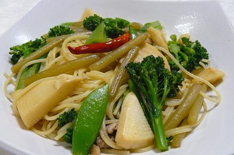 ブロッコリースパゲティ