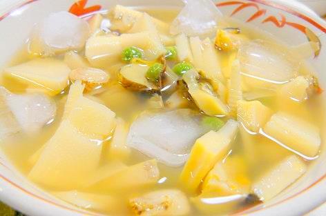 筍の冷たいスープ♪