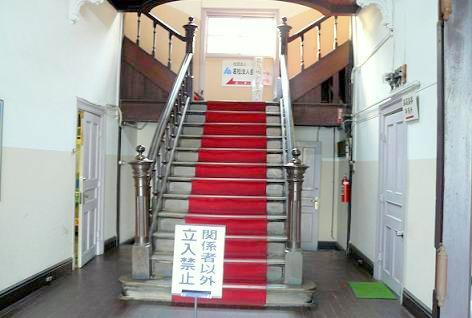 レトロな階段が♪