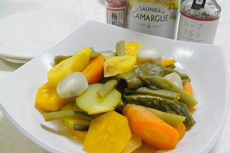 野菜の蒸しもの♪