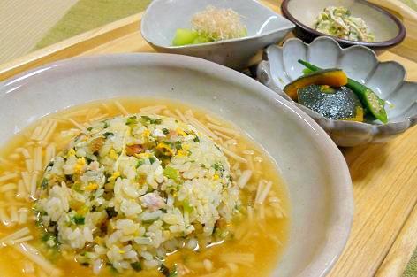 スープ炒飯セット♪