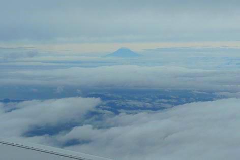 富士山が見えた♪