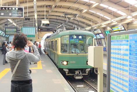 江ノ電に乗って鎌倉へ♪