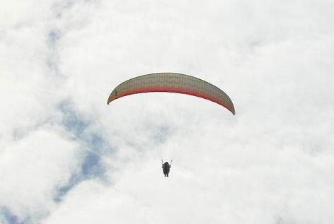 パラグライダー