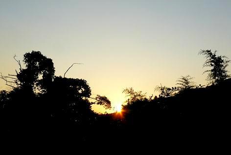 夕日が戻ってきた♪