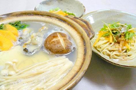 かき鍋!?