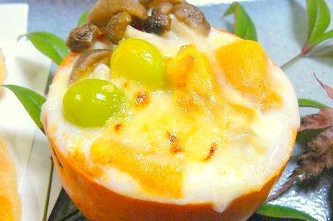 柿グラタン