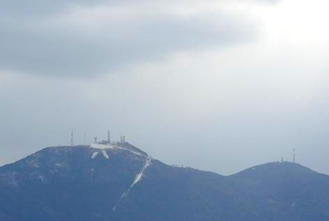 皿倉山の雪♪