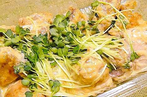 鶏肉の味噌マヨ焼き♪